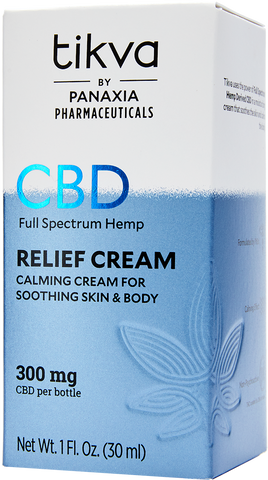 Pharmaceutical-Grade CBD Relief Cream