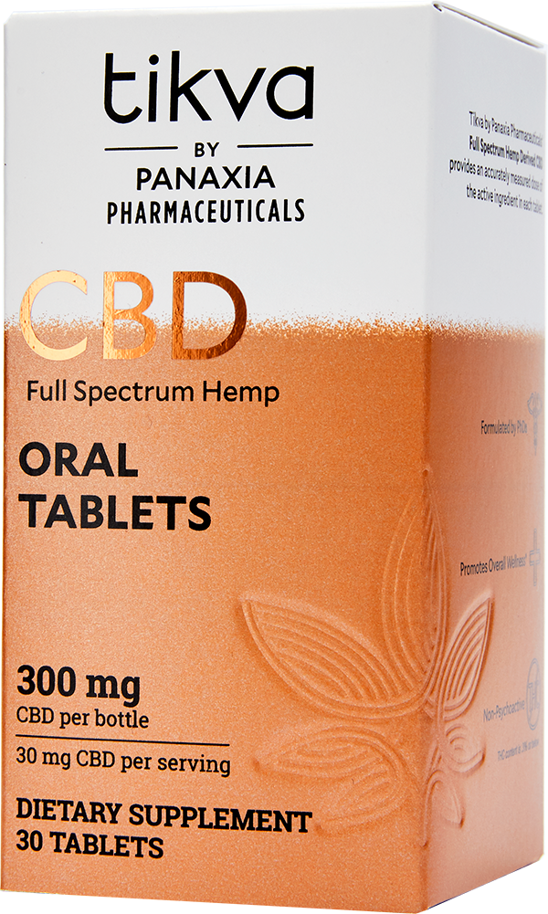 Full Spectrum Hemp CBD Oral Tablets