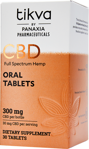 Pharmaceutical-Grade Full-Spectrum Hemp CBD Oral Tablets