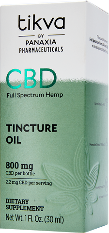 Pharmaceutical- Grade CBD Tincture Oil