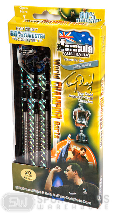 Formula Tony David 80% Tungston 22g Boxed Darts_108422