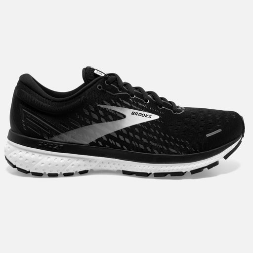 Brooks Ghost 13 D Mens Running Shoe - Black/White