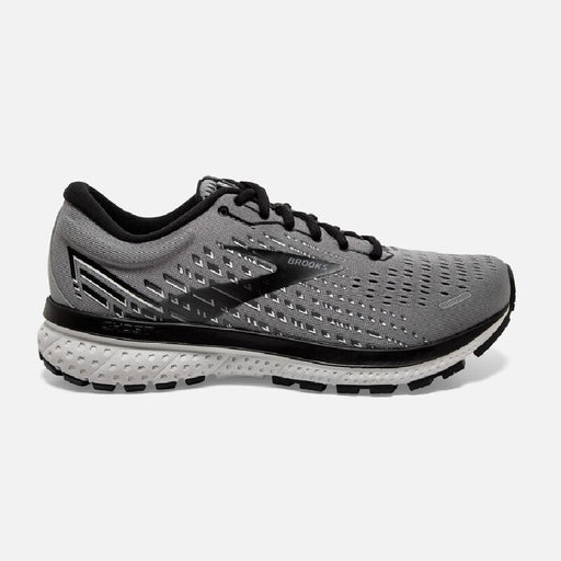 Brooks Ghost 13 D Mens Running Shoe - Primer Grey/Pearl/Black_110348 1D 040