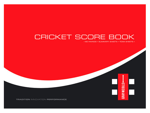 Gray Nicolls 60 Innings Cricket Scorebook_11123