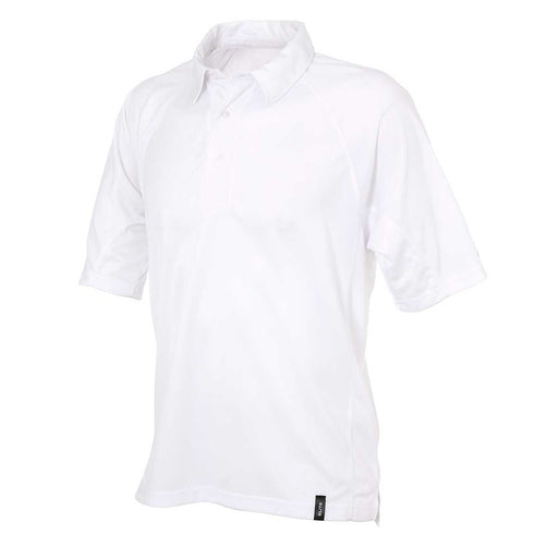 Gray Nicolls Elite Short Sleeve Junior Cricket Shirt - White_11401JNR