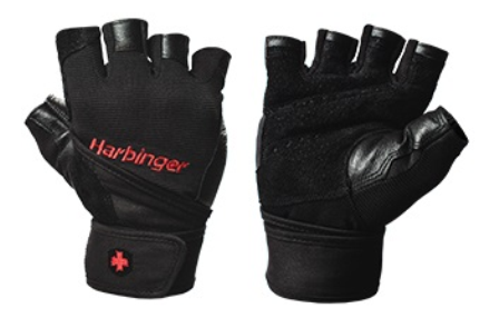 Harbinger Pro Wristwrap Glove Medium