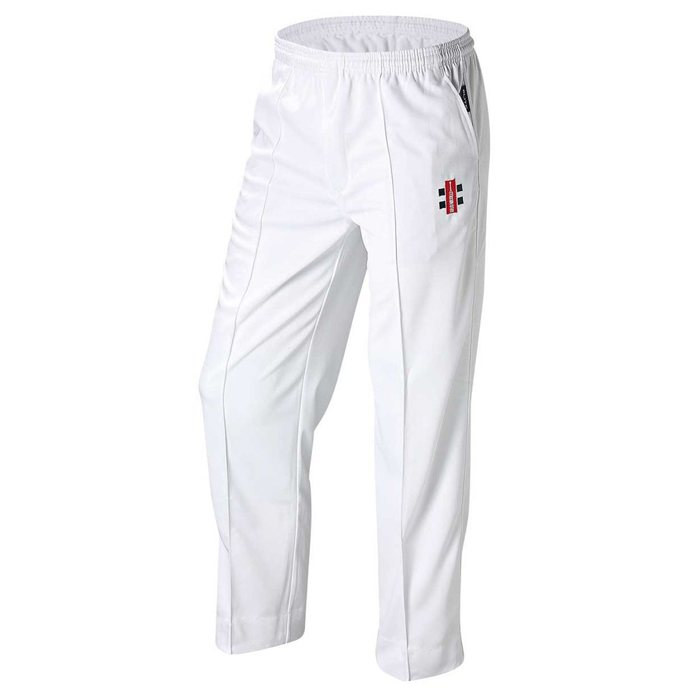 Gray Nicolls Senior Elite Cricket Pants - White_11403SNR