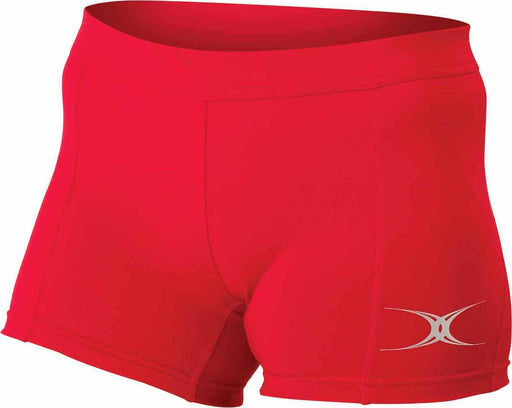 11794-RED_Gilbert Eclipse Netball Short - Red