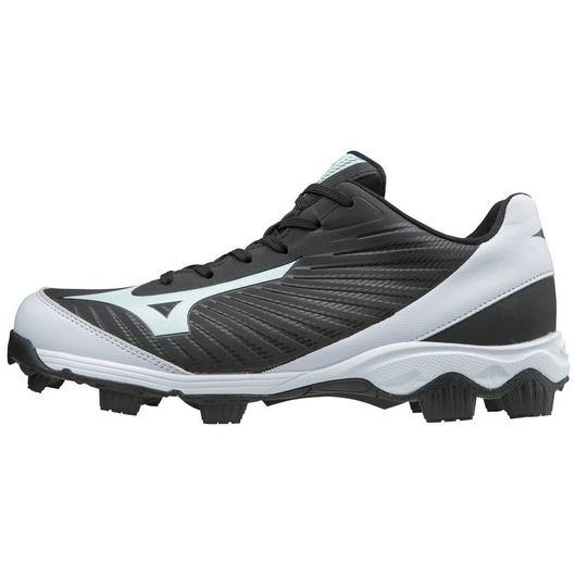 Mizuno Advance Franchise 9 Mens Moulded Softball Cleat - Black/White_11GP185209