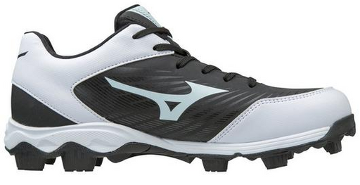 Mizuno Advance Franchise 9 Mens Moulded Softball Cleat - Black/White