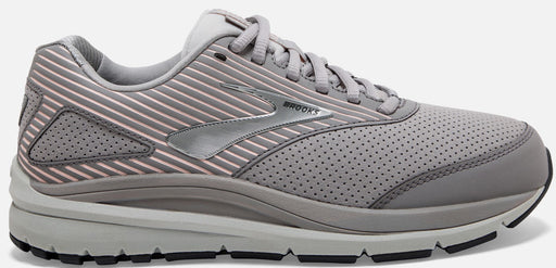 Brooks Addiction Walker 2 (B) Womens Walking Shoe-Shark/Alloy/Oyster_120308 B 094
