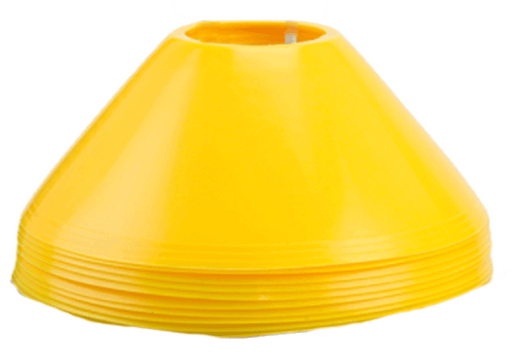 Steeden 6cm Cricket Safety Markers - Yellow