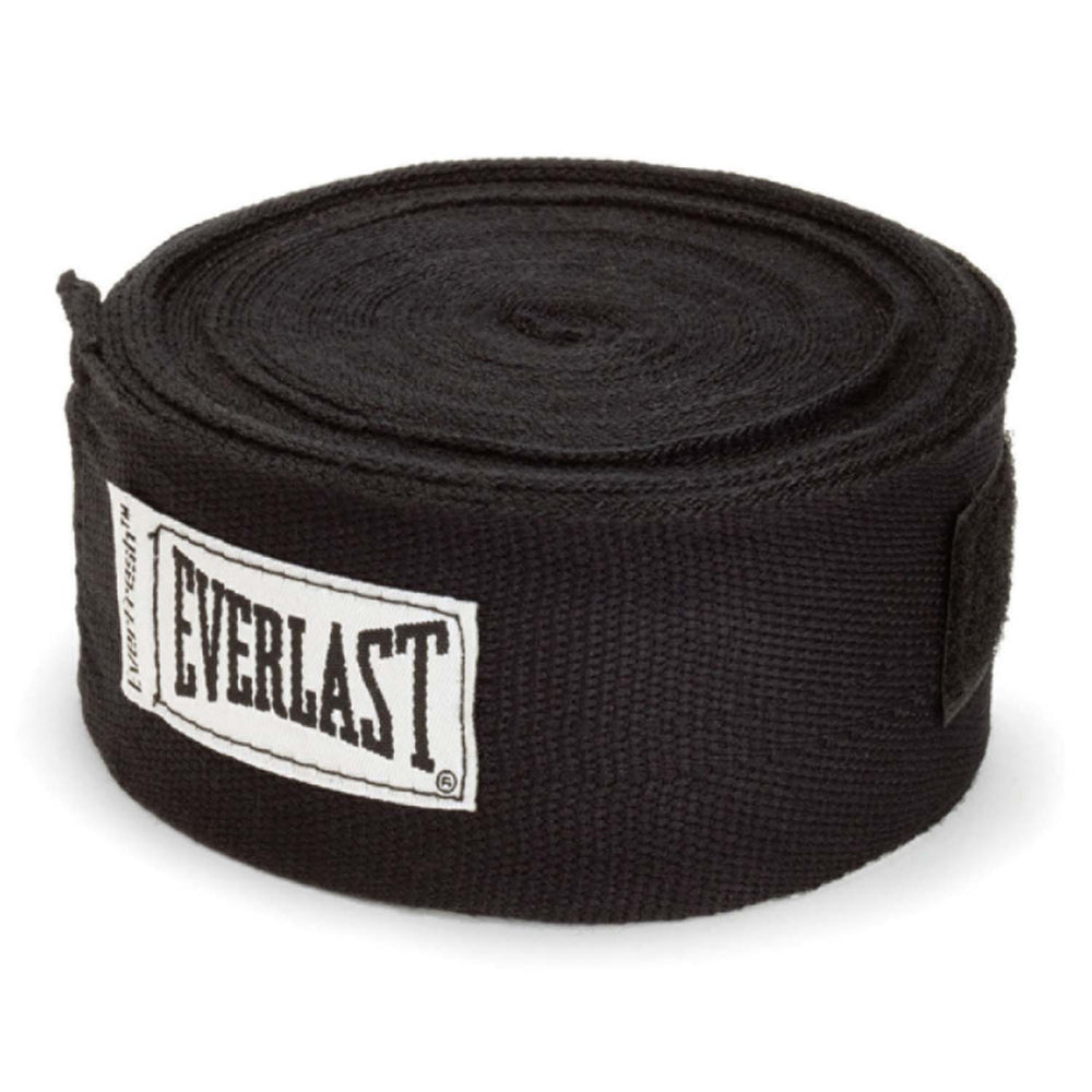 Everlast 180 Hand Wraps - Black_DWEQ127981