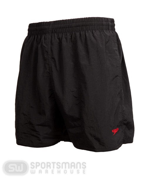 Speedo Mens Solid Leisure Short - Black