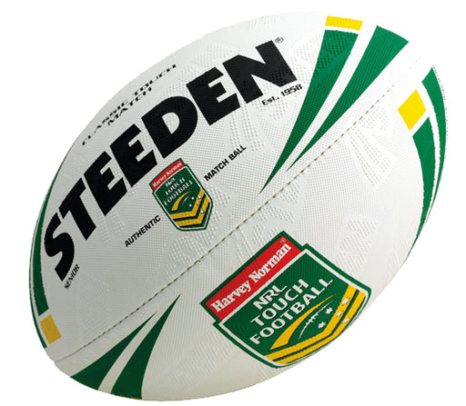 Steeden Classic Touch Match Football - White