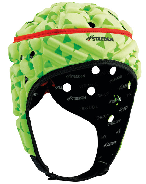 16969-LIM-JNR_Steeden Super Lite Jnr Headguard - Lime