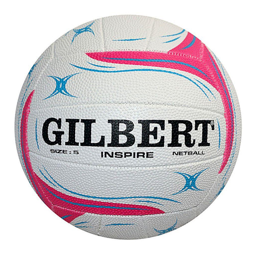 Gilbert Inspire Size 4 Training Netball - White