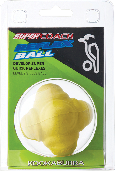 Kookaburra Reflex Cricket Ball -Yellow_1B4294S05BP