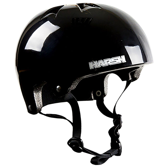 Harsh HX1 Extra Small Skate Helmet - Gloss Black_204-232