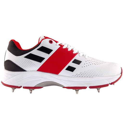 Gray Nicolls Players Full Spike Cricket Shoe - White (Size 12)_21676-12
