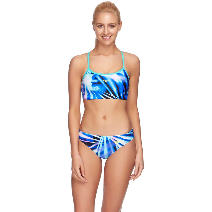2203A/7668_Speedo Womens End+ Crop Top - Rays
