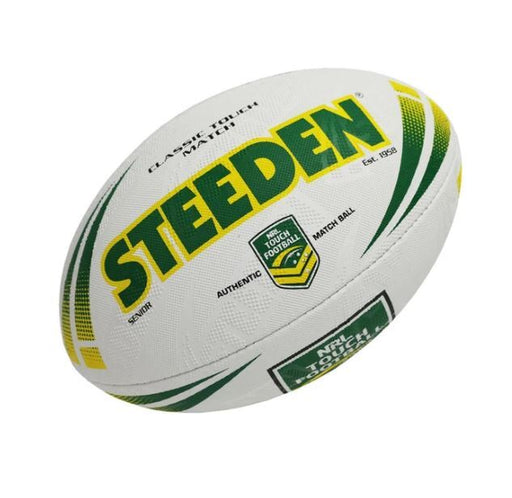 Steeden Classic Touch Junior Match Football - White