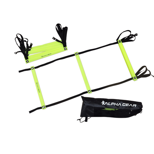 Alpha Twin Pack 2 Metre Agility Ladder And Bag