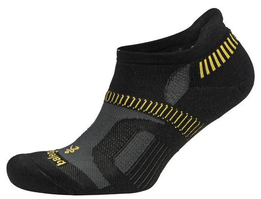 Balega Extra Large Hidden Contour Socks - Black/Yellow