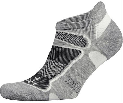 Balega Small Ultra Light No Show Socks - Grey/White