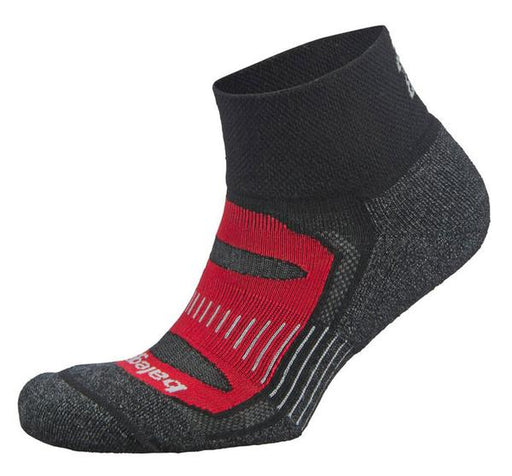 Balega Small Blister Resist Quarter Socks - Black/Red