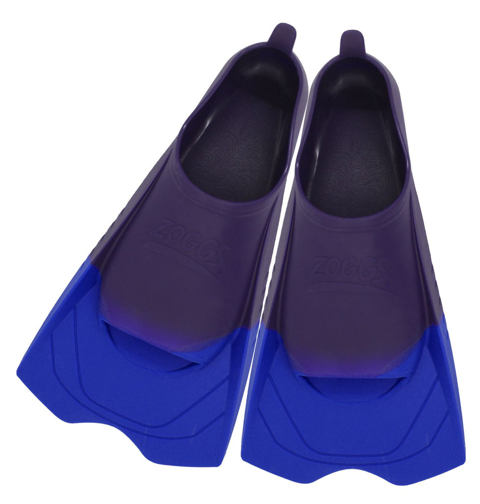 Zoggs Ultra Silicone US Size 12-2 Fin - Purple_310388