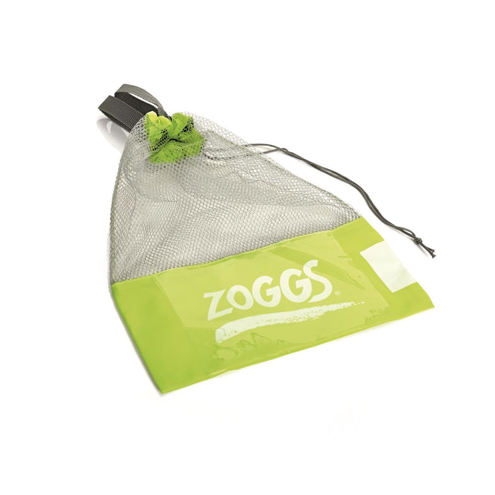 Zoggs Ultra Silicone US Size 7-8 Fin - Green