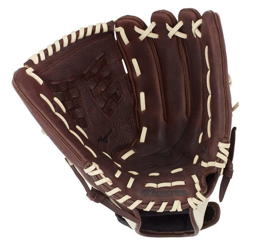Mizuno Franchise 12.5-inch Baseball Softball Gloves - Coffee/Silver (RHT)_312716