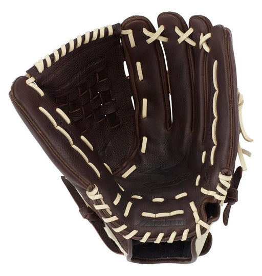 Mizuno Franchise 13-inch Baseball Softball Glove - Coffee/Silver (RHT) 312717