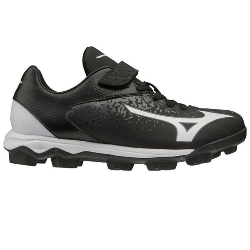 Mizuno Wave Select Nine Jnr Diamond Shoe - Black/White_11GP192509