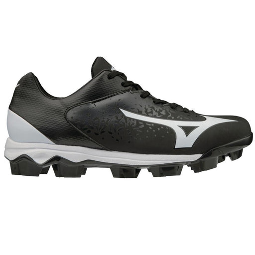 Mizuno Wave Select Nine Moulded Mens Baseball Shoe - Black/White_11GP192209