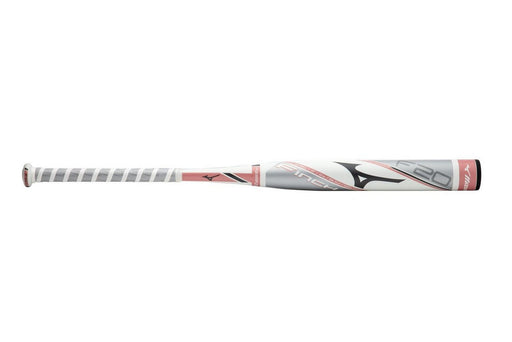 Mizuno F20 Finch Fastpitch Softball Bat - White/Rose Gold_340533.007E