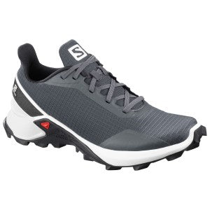 Salomon Alphacross Womens Trail Running Shoes - India Ink/White/Black