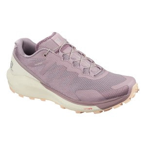 Salomon Sense Ride 3 Womens Trail Running Shoes -Quail/Vanilla Ice/Bellini_409699