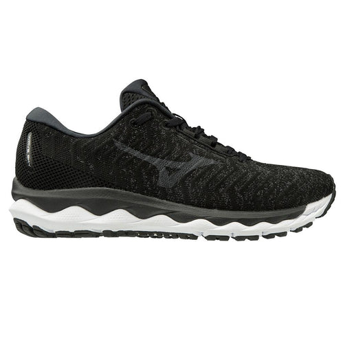 Mizuno Sky Waveknit 3 Womens Running Shoe - Black/Black J1GD192509