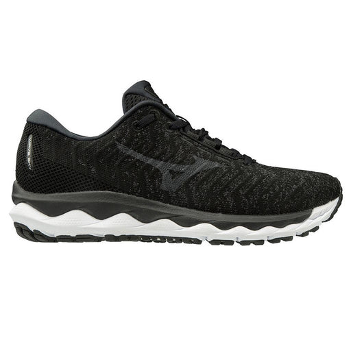Mizuno Wave Sky Waveknit 3 Mens Running Shoe - QShade/Black