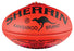 4111_Sherrin KB Leather Size 5 AFL Ball - Red