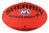 Sherrin Synthetic Size 4 AFL Ball - Red_4241