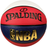 Spalding NBA Logoman Size 6 Indoor/Outdoor Basketball - Red/White/Blue
