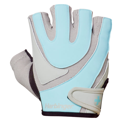 Harbinger Womens Training Grip Glove - Black/Blue_126529