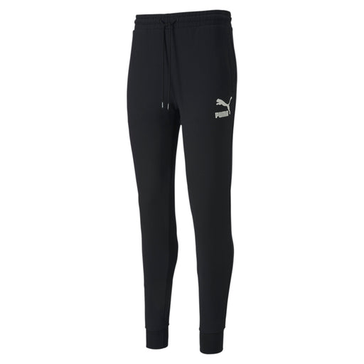 Puma Classics Knitted Mens Sweatpants - Black_595256_01