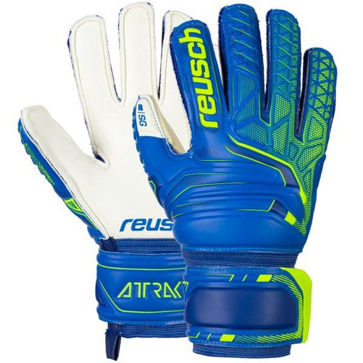 87520_Reusch Attrakt SD Finger Support Junior GK Glove-Size 4