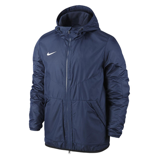 Nike Team Fall Youth Jacket-Obsidian_645905-451