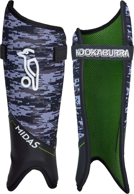 Kookaburra Midas Shinguard Small - Grey/Teal