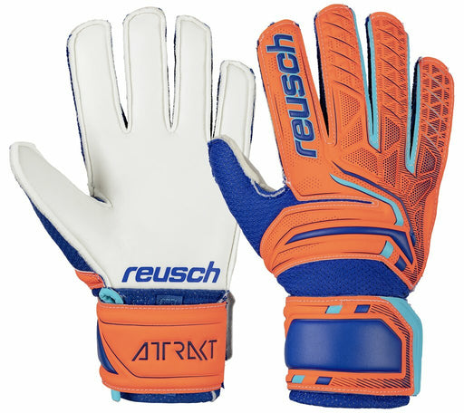 Reusch Attrakt SD Open Cuff Jr GK Glove-Size 4_87525